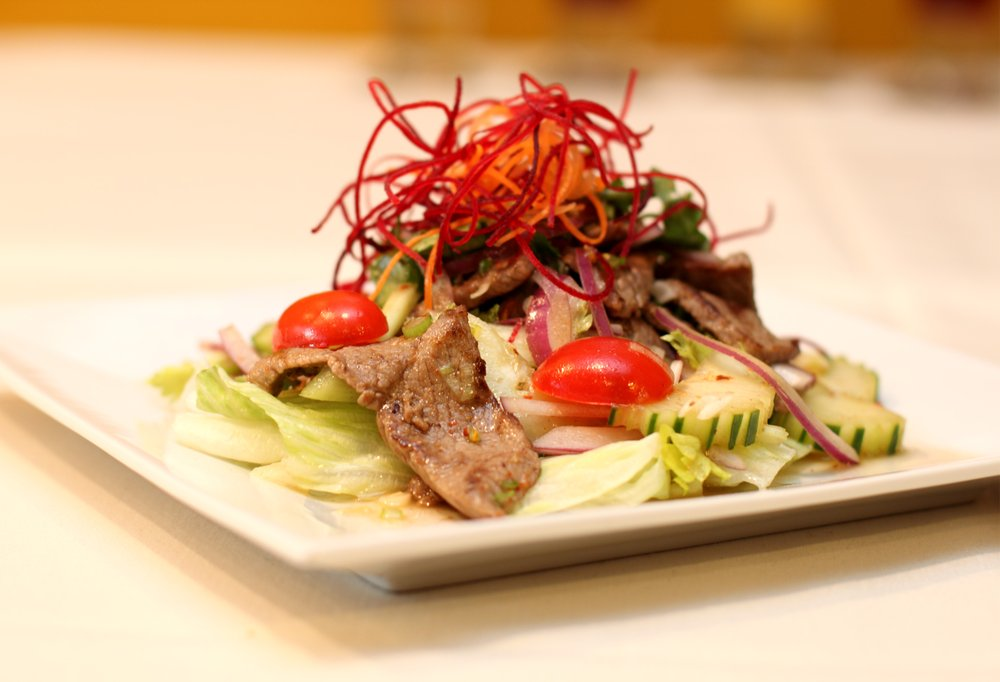 Grilled Beef Salad **