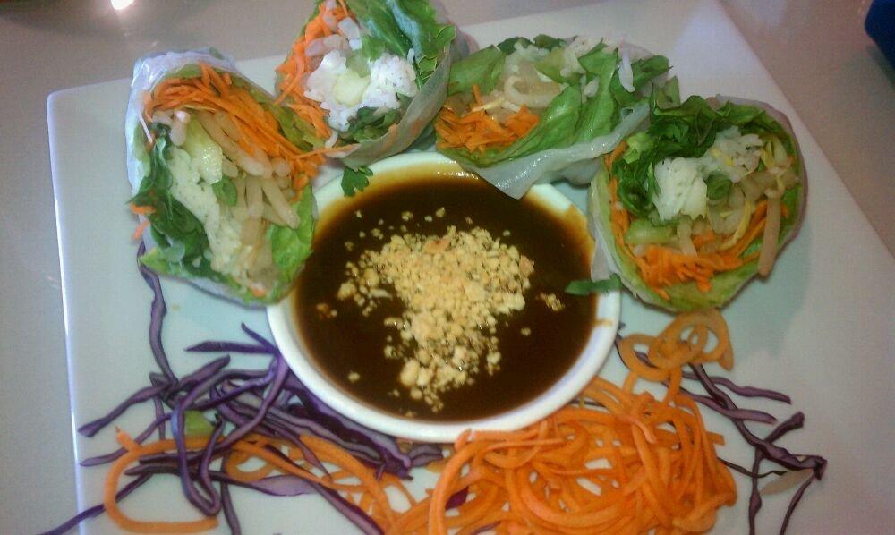 Garden Rolls-Shrimp