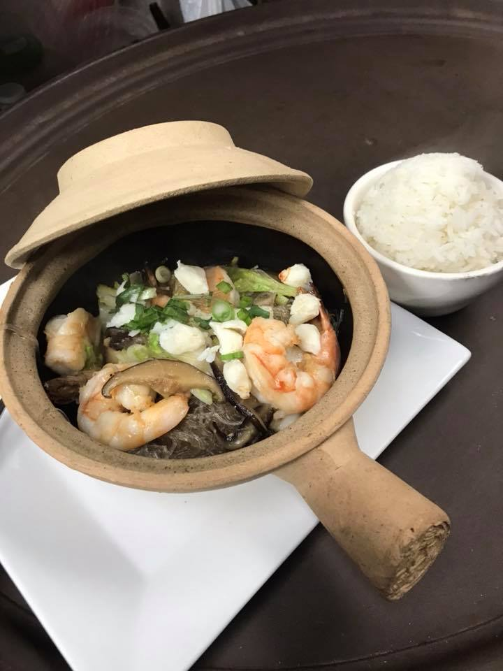 Shrimp Clay Pot
